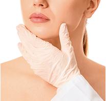 """Mejora la flacidez de la cara: efecto """"lifting""""."""